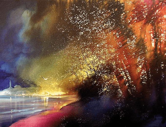 watercolor-Roland-Palmaerts