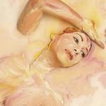 РОСПИСЬ акрилом по телу | Alexa Meade