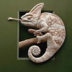 БУМАЖНАЯ скульптура | Calvin Nicholls