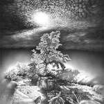 ГРАФИЧНАЯ зима | Guram Dolenjashvili