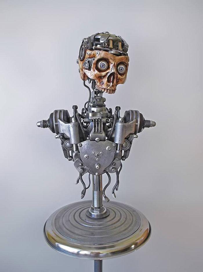 гламурный скелет