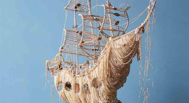 корабль из жемчуга