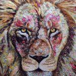 ЖИВОПИСНЫЕ коллажи из ткани | Sophie Standing