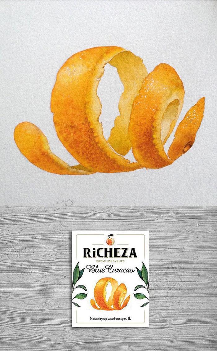 апельсиновая цедра, Richeza