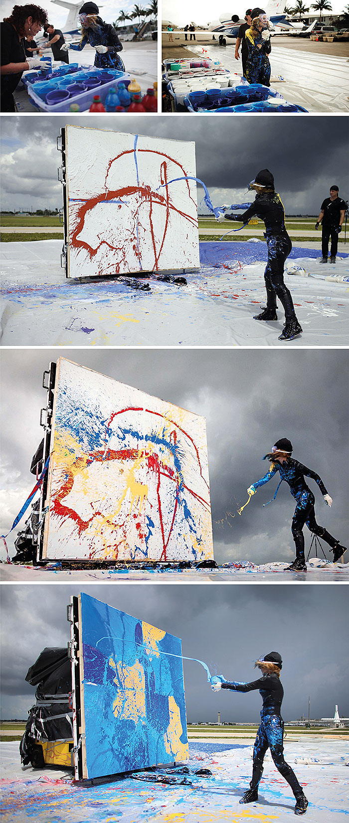 Jet Art или реактивное искусство