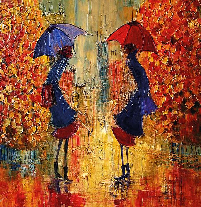 разговор под дождем