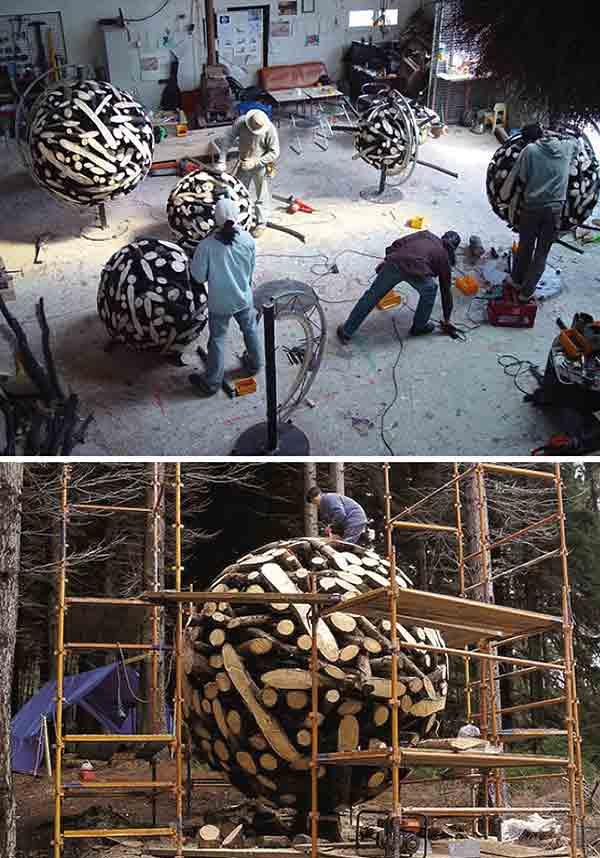 обработка дерева