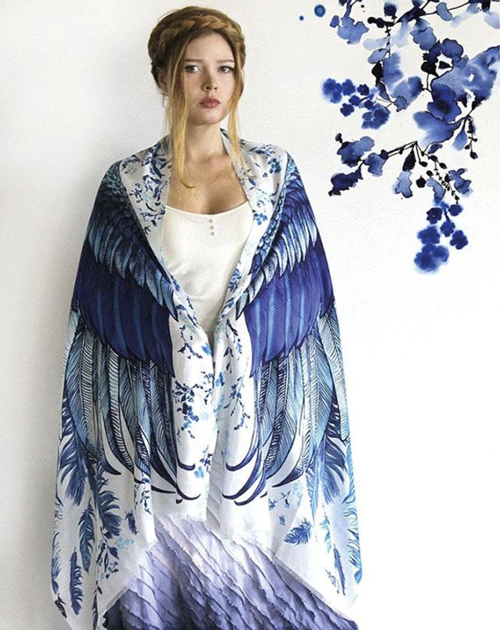 крылья синей птицы