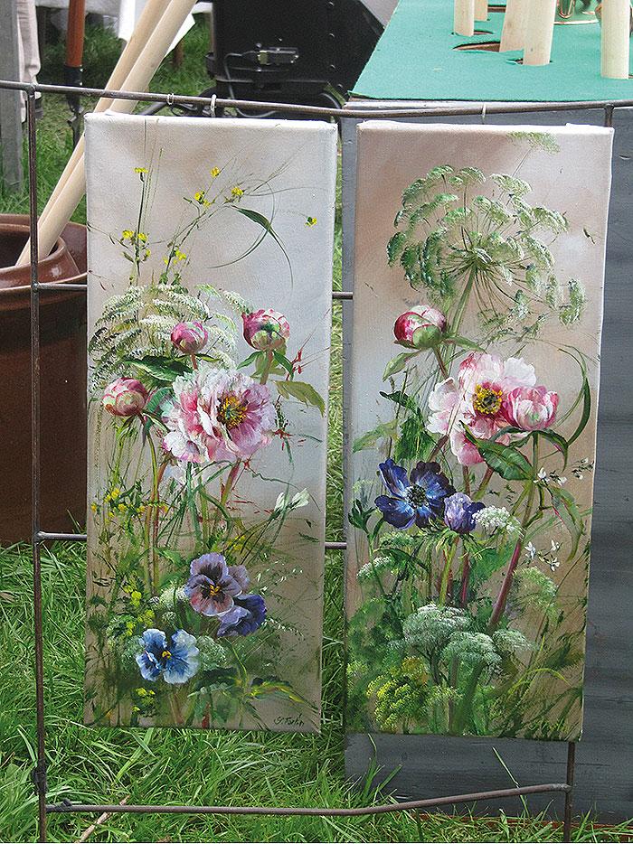 цветочные панно