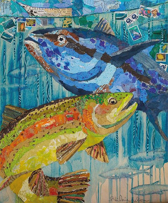 рыба картина
