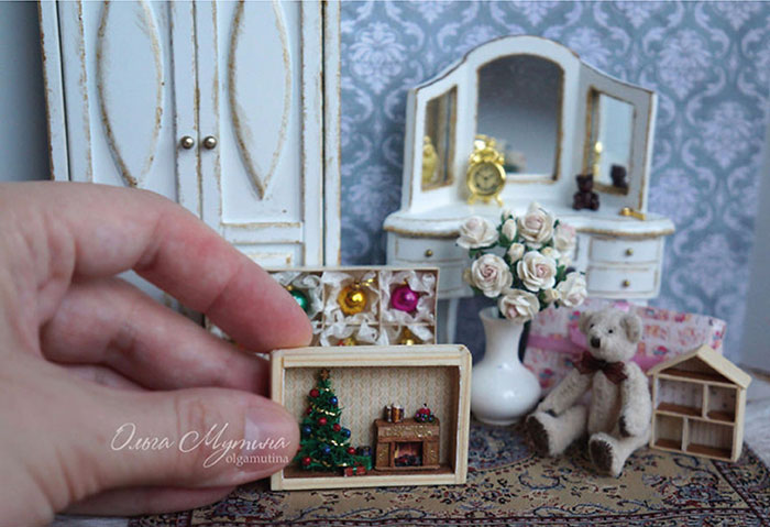 Спальня в миниатюре