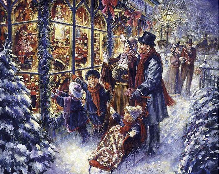 Прогулка в Рождество