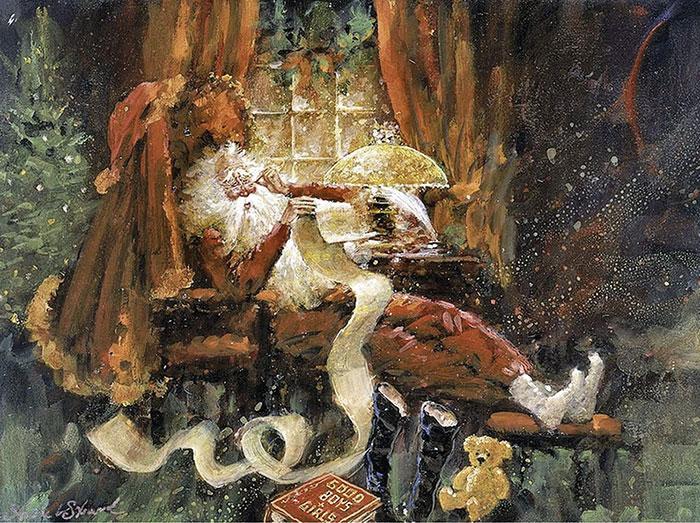 Санта отдыхает
