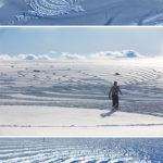 гигантские LAND-art-объекты | Simon Beck