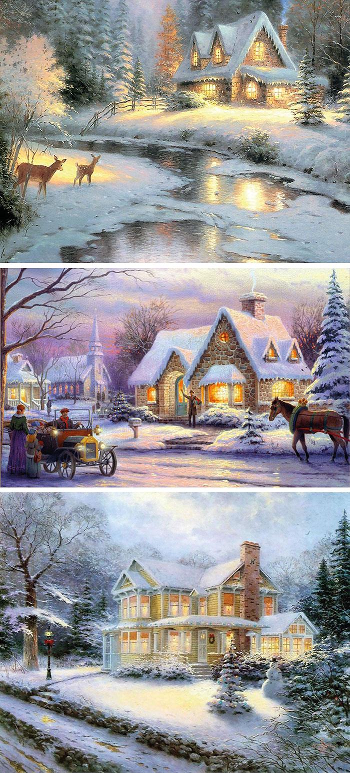 Рождество пейзаж