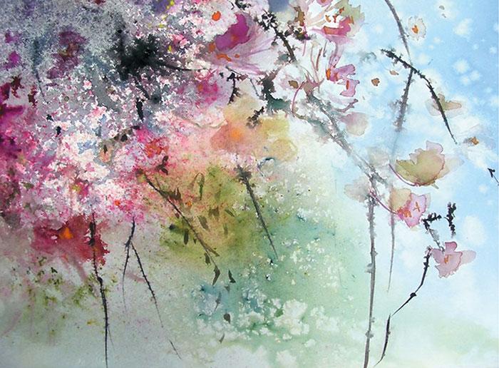 Ветка вишни 2