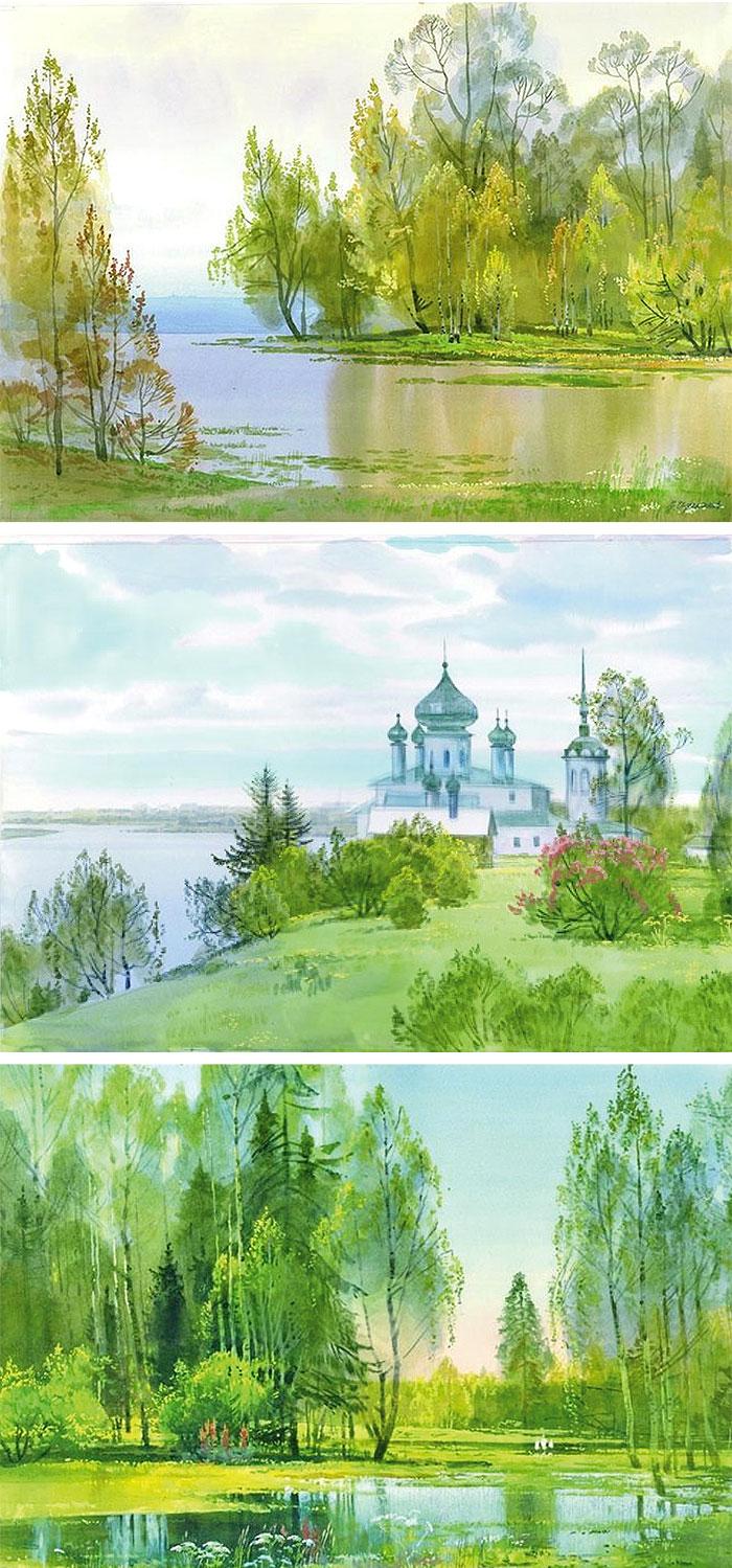 Весенние пейзажи 2