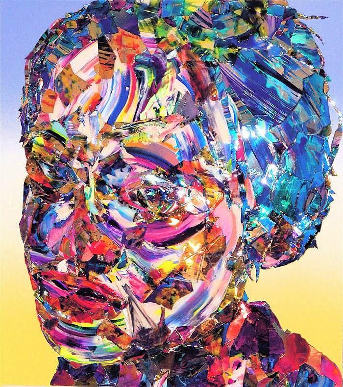 портрет акрилом