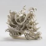 ФАРФОРОВЫЕ инсталляции в стиле рококо | Katsuyo Aoki