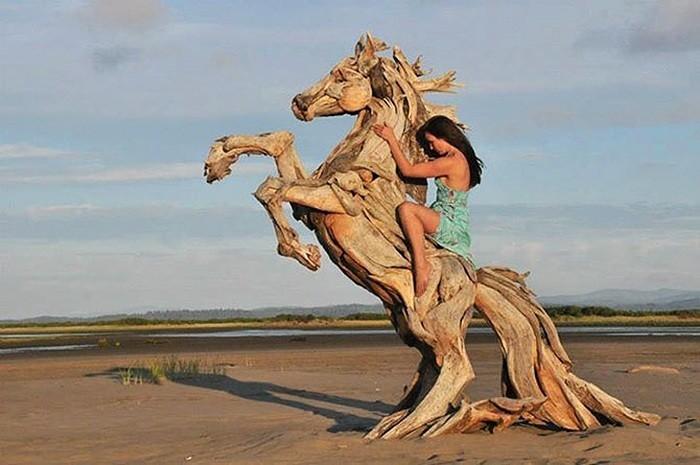 конь амазонка