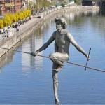 скульптуры или БАЛАНС на проволоке | Jerzy Kedziora