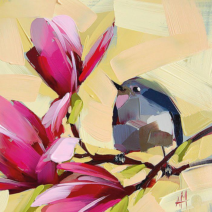 птичка певчая