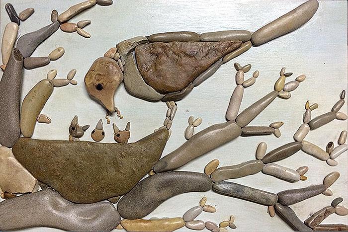 картина гнездо