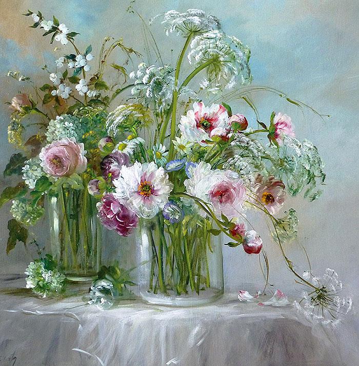 цветочный натюрморт