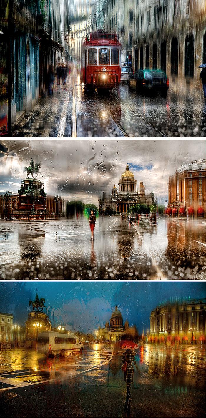 Дождь в Петербурге 1