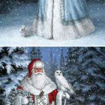 Санта, похожий на Деда Мороза из Великого Устюга | Elizabeth Goodrick-Dillon