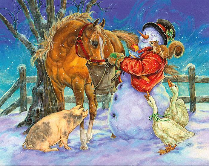 Лошади Санты