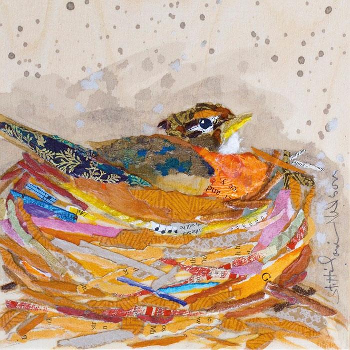 гнезда птиц