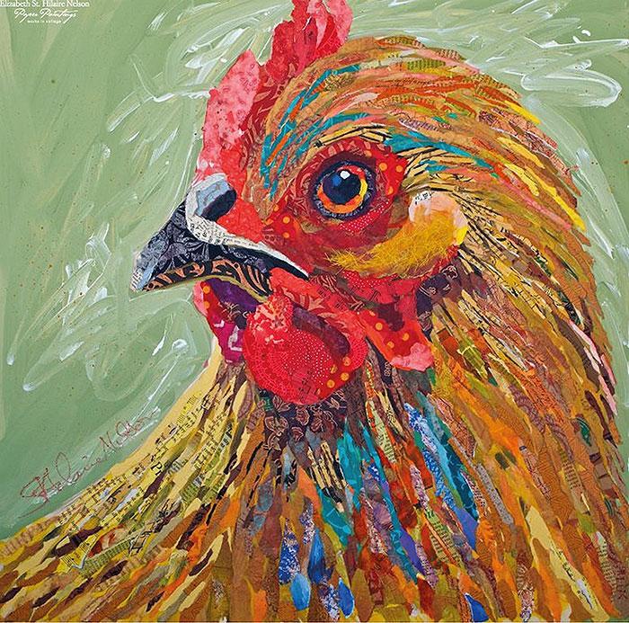 курица картина