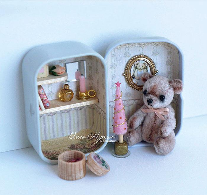 Домик для мишки 2