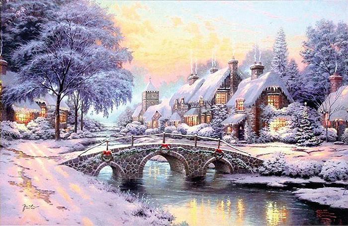 Мост зимой 2
