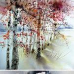 КОРОЛЕВА акварели | Reine Marie Pinchon