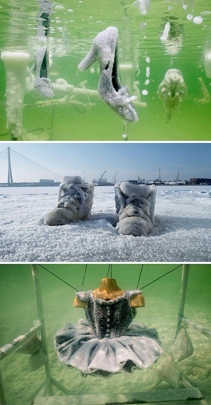 Предметы в соли