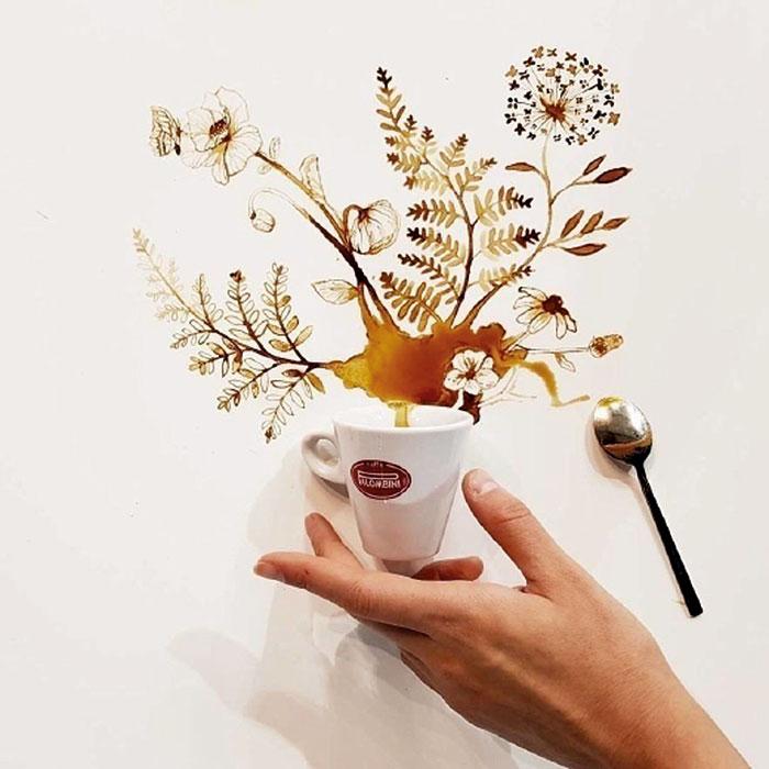кофейные цветы