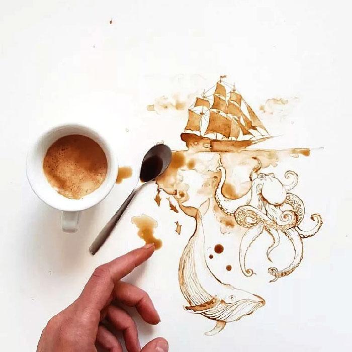кофейное творчество