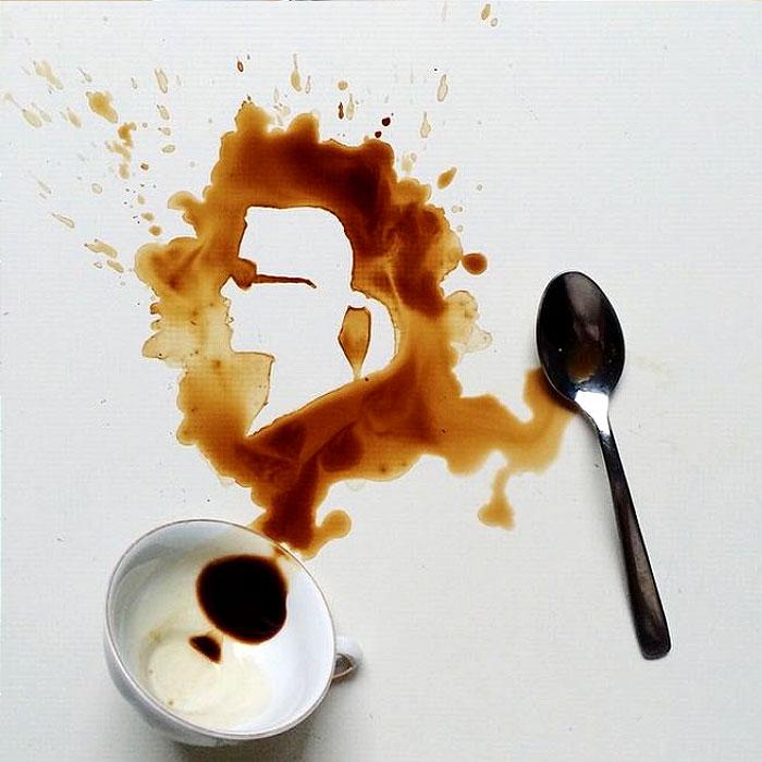 Лагерфельд и кофе