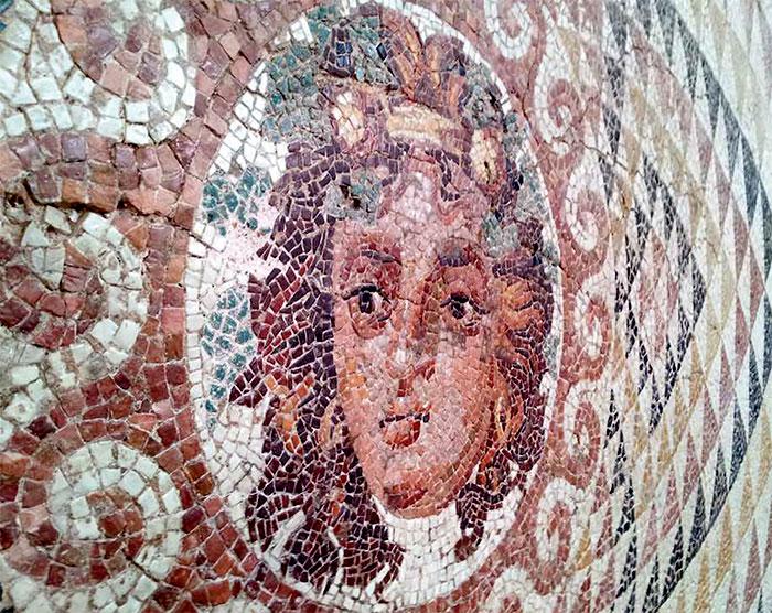 греческая мозаика