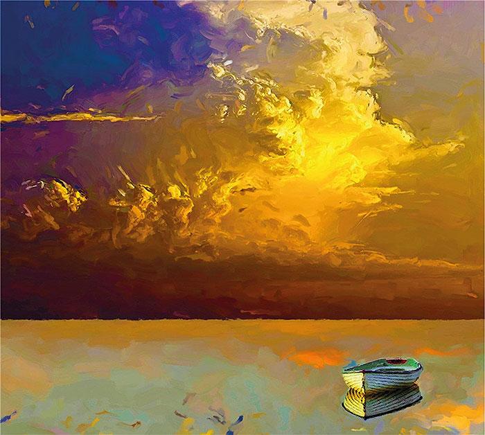 золотые облака