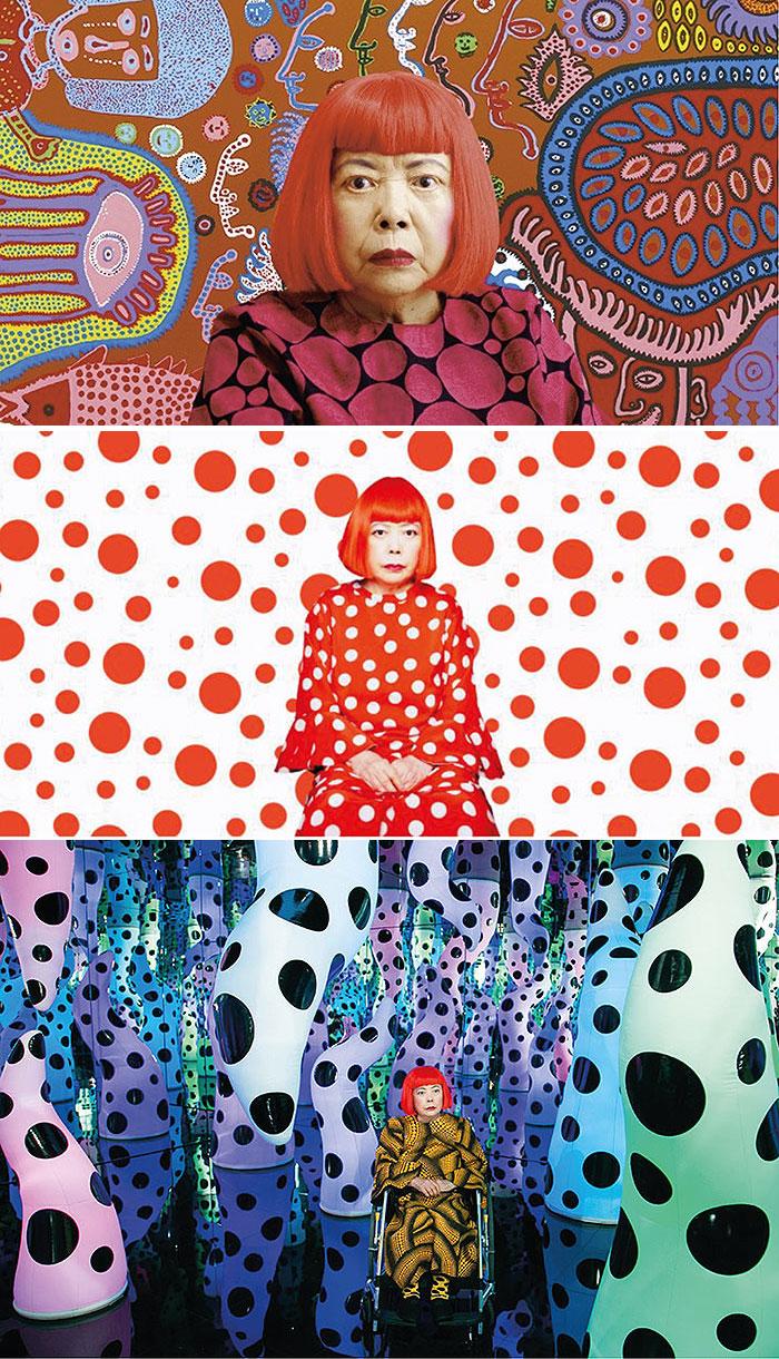 японская художница яеи кусама