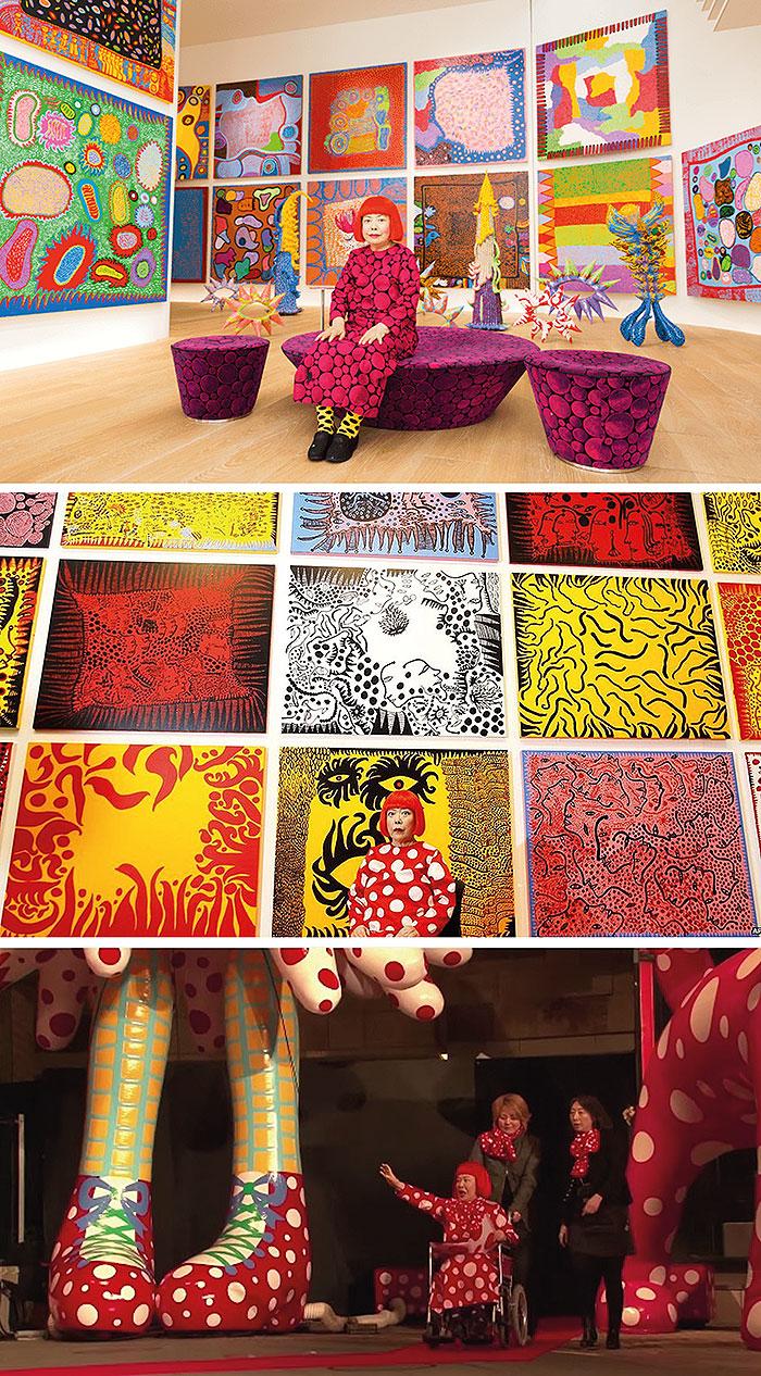 картины японской художницы яеи