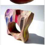 украшения из КАРАНДАШЕЙ это бижутерия или арт-объект? | Maria Cristina Bellucci